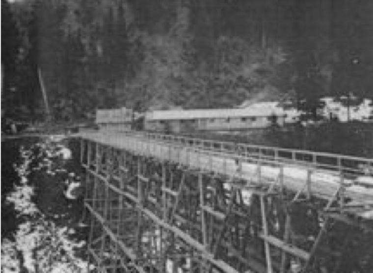 Alte Transportbahn Imberg nach Altstädten | Berggasthof Sonne in Sonthofen