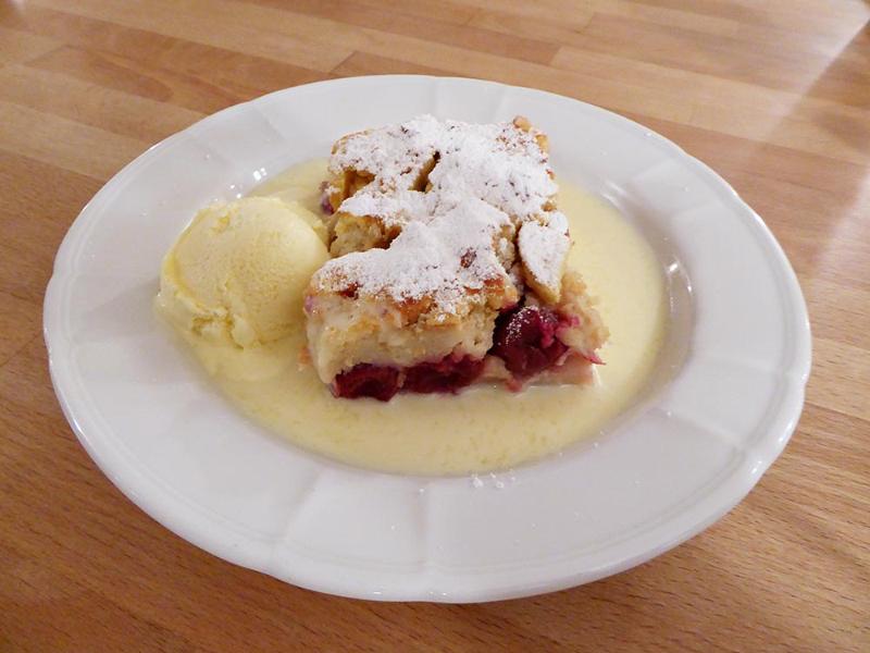 """Dessert """"Armer Ritter"""" im Berggasthof Sonne   Berggasthof Sonne in Sonthofen"""