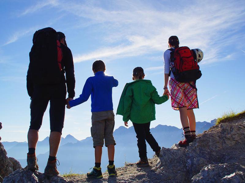 Wandern mit der ganzen Familie | Berggasthof Sonne Imberg in Sonthofen